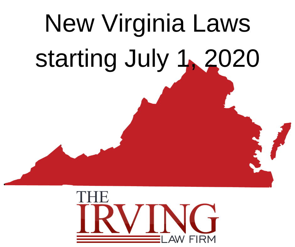 Updates to Virginia Criminal & Traffic Laws 2020
